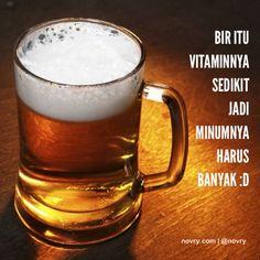 Bir itu vitaminnya sedikit. Jadi minumnya harus banyak :D #joke #canda #tawa #ketawa #lucu #humor #humorpic #humoroftheday #humorous #senyum #senyuman #lol #rofl #lmao #lmfao #haha #funny #comedy #ID #indonesia #jakarta #instagood #instadaily #instapic #instanesia #instamood #instacool #iphonesia #instacomedy
