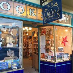 From Chronicle Books in San Francisco: We can never resist popping inside bookstoresespecially when they look as cheery as Folio Books here in San Francisco. Photo by @sparklygabs for  #ThisIsMyBookstore #bookporn