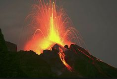 sciara del fuoco a Stromboli