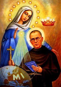 Saint Maximilien Kolbe Francis Of Assisi, St Francis, Maximillian Kolbe, St Maximilian, Year Of Mercy, Jesus Faith, Catholic Saints, Blog, All Saints