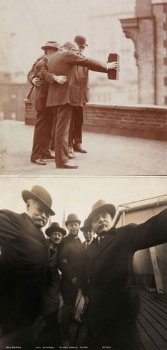 Selfies, c. 1920 - Photographs by The Byron Company via The Museum of the City of New York