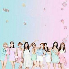 Lindas las quiero !!!#twice #momo #tzuyu #dahyun #nayeon #chaeyoung #jihyo #sana #mina #jeongyeon (me falta la marti la rebe y la pia)