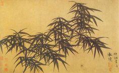 Ink Bamboo - Daosheng Guan
