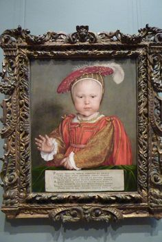 The famous portrait of Prince Edward (later King Edward VI) in Washington DC's National Gallery of Art.