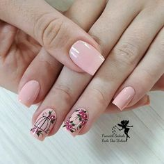 34 bright floral nail designs you should try for spring 2019 032 - Spring Nails Light Colored Nails, Light Nails, Spring Nail Art, Spring Nails, Colorful Nail Designs, Nail Art Designs, Cute Nails, Pretty Nails, Vernis Semi Permanent