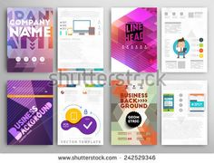 Set of Flyer, Brochure Design Templates. Mobile Technologies, Applications and Online Services Infographic Concept. Brochure Design, Flyer Design, Web Design, Technology Background, Mobile Technology, Company Names, Infographic, Royalty Free Stock Photos, Concept