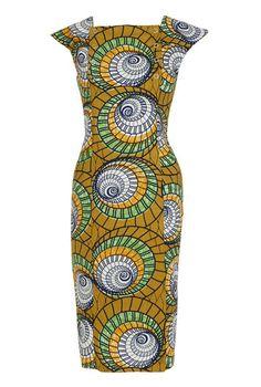 KISUA   Shop African Fashion Online - African print pencil dress