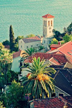 Montenegro (in the Balkins, or SE Europe, along the coast of the Adriatic Sea)