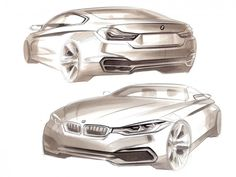 BMW Concept 4 Series Coupe - Design Sketches http://www.carbodydesign.com/design-sketch-board/page/87/?sort=recent