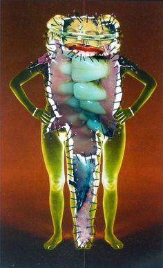 Collage Art, Collages, Arte Cyberpunk, Arte Horror, Psychedelic Art, Dark Art, Art Inspo, Illustration, Cool Art