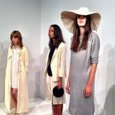 Are you feeling the floppy hat at Steven Alan? #nyfw