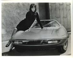 Stephanie Powers | Man from Uncle Car