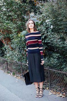 Street Style Paris Fashion Week Octubre 2015. Fotos de moda en la calle, celebrities,  modelos