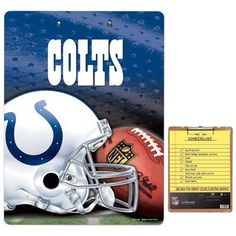Indianapolis Colts Team Logo Clipboard - $16.99