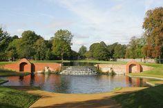 Water Garden at Bushy Park - London UK