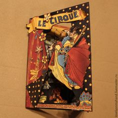 Card Le Cirque by Elizaveta Belevskaya & Graphic 45