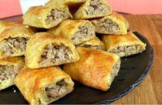 Bosnian Recipes, Croatian Recipes, Baking Recipes, Cake Recipes, Dessert Recipes, Dinner Crepes, Kiflice Recipe, Pasta, Cake Baking