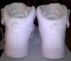 quality design 4d33c 534f3 My AF1 White Mid ´07 Nike Air Force