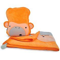 Manta y almohada de viaje Mono - Trunki