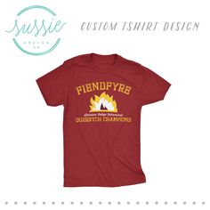 Intramural Team Shirt // College Intramural Sports Team Shirt Design // Intramural Design // Intramural Shirts // Muggle Quidditch // Harry Potter