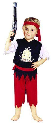 Foxxeo 10204 | Kostüm Pirat Piratenkostüm Seeräuber Freibeuter für Kinder Kinderkostüm Gr. 98 - 116, Größe:110 Foxxeo http://www.amazon.de/dp/B00HY65TCW/ref=cm_sw_r_pi_dp_iqWgvb0M97QJ7