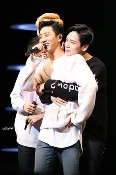Yongguk and Himchan (Banghim)