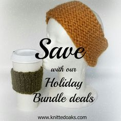 Save huge with our Cyber Monday bundle deals available tomorrow! #knittedoaks #NoreasterEarWarmer #SimplyCozy #holidayknits #knitting #knittingpatterns #bundlesavings #CyberMonday #chunkyknits #knitstagram #knittersofinstagram