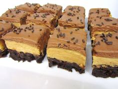 Peanut Butter Fudge Brownie Bricks | KoKo's Corner