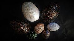 Pomysły plastyczne dla każdego, DiY - Joanna Wajdenfeld: Pisanki ozdabiane reliefem
