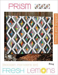 Image of Prism Quilt Pattern - Printed