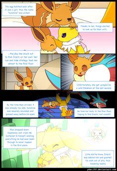 Eevee Comic, Pokemon Eevee Evolutions, Pokemon Comics, Goku, Squad, Deviantart, Humor, Manga, Funny Things