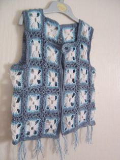 Custom made retro kid waistcoat [] # # #Crochet #Sweaters, # #Crochet #Clothes, # #Crochet #Tops, # #Knit #Crochet, # #Retro #Kids, # #Crochet #Blouse, # #Crochet #Granny, # #Paisley #Pattern, # #Crochet #Necklace