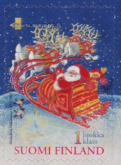 1st class stamp, Finland, 2001