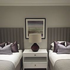 Guest bedroom installed at our Esher project #siteprogress #design #interior…