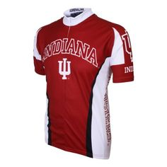 Ncaa Men s Adrenaline Promotions Indiana Hoosiers Road Cycling Jersey-X-Large 360784dc9