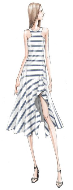 Designer Sketches From New York Fashion Week Spring 2015 | POPSUGAR Fashion