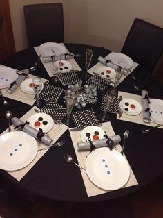 snowman table settings - Google Search