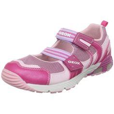 Geox Girl's Ascari 1 Mary Jane Sneakers, Pink/Fuchsia, 35 EU (3.5 M US Big Kid) $70.00