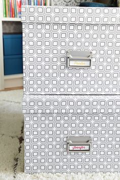 IHeart Organizing: Our Storage Spaces: Memory Boxes