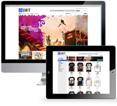 Unit Riders website - TUSK Agency