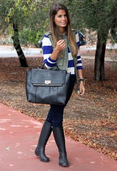 Love the striped shirt with the vest