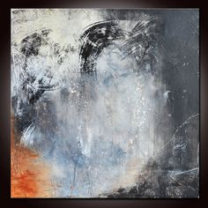 Black and White Art Abstract Painting 20 Black abstract by Andrada, $250.00