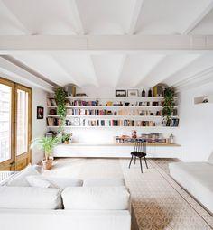 On Diseño - Proyectos: Reforma de una vivienda en el Ensanche de Barcelona