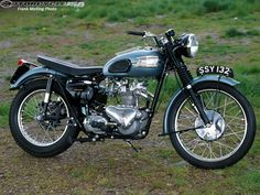 Triumph Motorcycles | Memorable Motorcycles - 1956 Triumph TR5 Picture 5 of 9