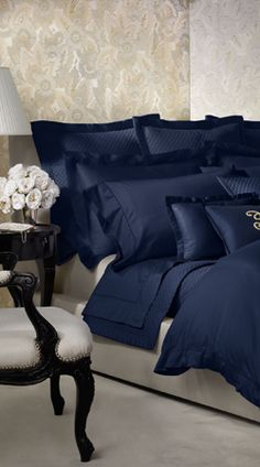 ralph lauren navy bedding | Ralph Lauren Bedding Collections, Bed & Bath, Home Furnishings