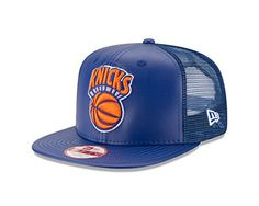 NBA New York Knicks Team Sleek Trucker Original Fit Cap e8ca84ea7756
