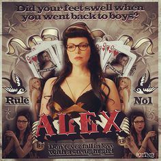 Rule No1 - Alex Vause OITNB #OITNB #Orangeisthenewblack #alexvause