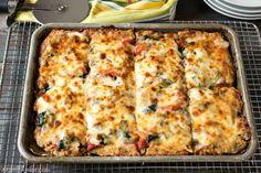 Sheet Pan Pizza Recipe, Sheet Pizza, Healthy Recipes For Diabetics, Healthy Snacks, Healthy Eating, Pizza Recipes, Recipes Dinner, Diet Recipes, Pizza