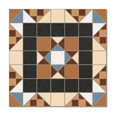 Kolekcja Barnet - płytki podłogowe Halton Marrón 31,6x31,6