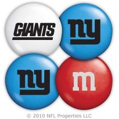 New York Giants M&M'S